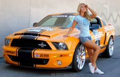 The Art of Women and Cars (31 Photos)  - If you were to ask men to name their favorite things, I would imagine that cars and women would be the most mentioned.  We have been photographing bea...