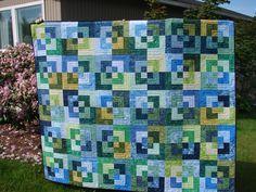 Tim's Quilt | Bento Box pattern. | Sandie Holtman | Flickr