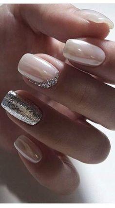 Elegant Nail Designs, Elegant Nails, Nail Art Designs, Pedicure Designs, Fall Manicure, Bridal Nail Art, Wedding Nails Design, Super Nails, Nagel Gel
