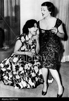Betty Davis and Anna Magnani