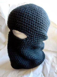 Free Crochet Pattern: Basic Ski Mask