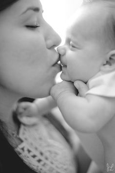 Another nice Father's Day canvas print possibility---mommy with baby.