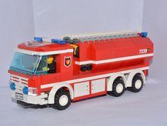 Swedish tanker truck  #lego #legocity #lego365 #legomoc #legostagram #legofiretruck #firetruck #tanker #tankbil #brandbil #brandman #blåljus #lastväxlare #legotown #swebrick #mocs #moc #legoveichle #sweden #bricks #legobricks by theswedishlegomaniac