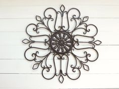 Metal Wall Scroll / Outdoor Decor / Wall by ReformedMetals on Etsy, $30.00