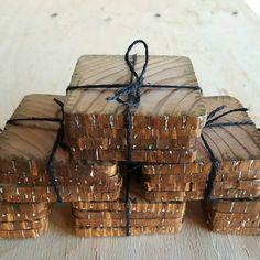 Check out this item in my Etsy shop https://www.etsy.com/listing/453880752/reclaimed-wood-coasters