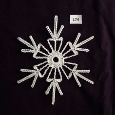 PDF Pattern for 5 Crocheted Snowflakes set 35 от TheNeedleWorks