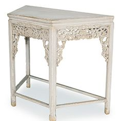 Ornate Shabby Chic Wall Table  2 each bathroom on each floor for sink