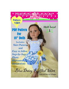 PDF Sewing Pattern for 18 Inch American by HauteDesignsByNorine