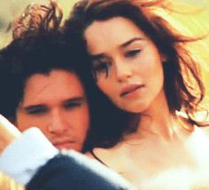Kit Harington and Emilia Clarke