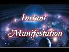 Instant Manifestation - Amazing Tips to Manifest FAST - Law of Attraction (new) - YouTube