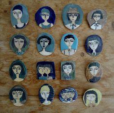 ceramic brooches | . | kinska | Flickr