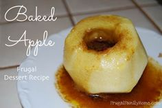 A easy microwave recipe for Baked Apples.