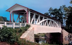 Halls Mill Covered Bridge ~ Bedford County ~ Pennsylvania