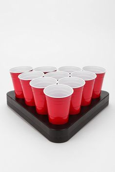 Beer Pong Ice Rack - Because warm beer is just wrong. #urbanoutfitters