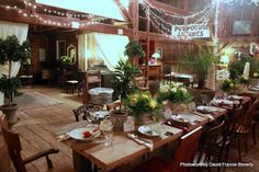 The Loft at Jack's Barn, Oxford, NJ. Event design by Bilancia Designs