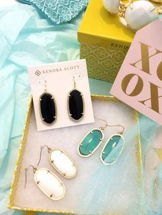 A Beautiful Kendra Scott Mess on www.mhouseofstyle.com Couture Accessories, Kendra Scott, Cute Outfits, Bling, Earrings, Beautiful, Pretty Outfits, Ear Rings, Jewel