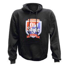 Old Style Beer Unisex Black Cotton Blend Sweatshirt Hoodie L-2XL Limited Supply  #Gildan
