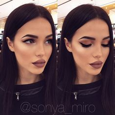 GLAMOROUS MAKEUP ❤️My beautiful model @prikhodko_tattoo ❤️ MAC ingredients- Skin- studio moisture fix, foundation- pro longwear spf10, CC powder adjust, hilighter- soft and gentle, eyeshadow/15- warm neutral, eyeliner- blacktrack, mascara- falselashes, brow- brun eyeshadow, brow gel- SHOW OFF, lip -lip pencil PLUM , lipstick VELVET TEDDY  ❤️#SONYAMIRO #Moscow #myartistcommunity #maccosmetics #beautyblogger #bbloggers #blogger #москва #LOVE #follow #facecharting #facechartp...