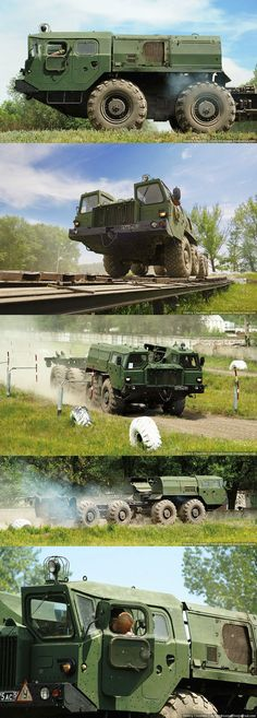 Beast on Wheels, MAZ-543, Russian military
