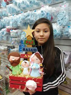 Christmas Clay, Halloween Christmas, Christmas Crafts, Xmas, Christmas Ornaments, Nativity Ornaments, Pasta Flexible, Ideas Para, Polymer Clay
