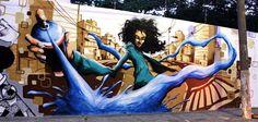 Arte do grafite ou graffiti