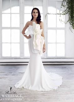 Marie Ollie wedding dress, Marriage ,,extravaganza""
