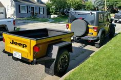 Jeep Trailer Gallery- Homemade Jeep camping trailer towed by any vehicle. Off Road, pavement build for your style of camping. Tub Kits durable and light! Jeep Cj7, Jeep Wrangler Tj, Jeep Wrangler Unlimited, Expedition Trailer, Overland Trailer, Jeep Renegade, Off Road Trailer, Kayak Trailer, Pickup Trucks