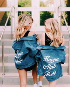 Kappa Alpha Theta // Ali and Ariel