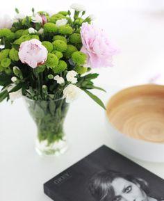 Paeonia lactiflora & Dianthus barbatus