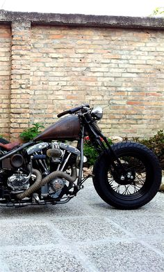 A real Shovelhead - the ghost and the darkness