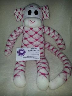 Sock Monkey Www.facebook.com/snugglysockimals
