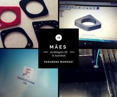 Dia das Mães; Modelagem 3D e AutoDesk   GAROTA EMPREENDE