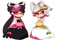 Callie and Marie have reached cuteness equilibrium : splatoon
