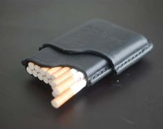 Handmade Leather Cigarette Case, Leather cigarette case, Gifts for smokers, Tobacco pouch, cigarette holder, handmade, women cigarette case