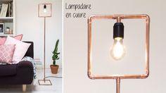 Design industriel pour ce lampadaire qui prendra tout son style équipé d'une jolie ampoule.