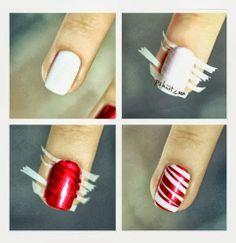 idées Nail art pour Noël | Tutoriels bricolage et artisanat