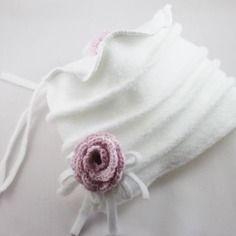 Bonnet en tissu polaire pour enfant, bébé