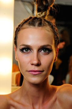 Try this: Double-winged eyeliner