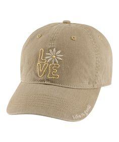 Life is Good® Mocha Love Chill Baseball Cap - Women 07a600cb5f62