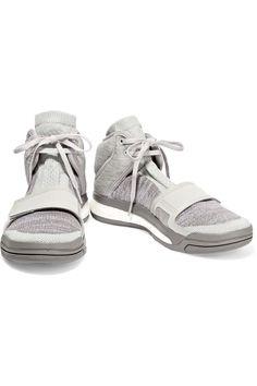 Adidas by Stella McCartneyaSMC Boost VIBE stretch-knit and jersey sneakersfront