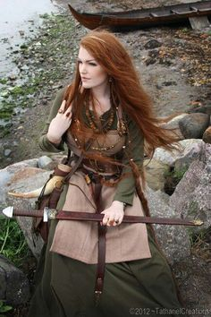Viking gown