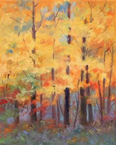 """A Forest in Autumn,"