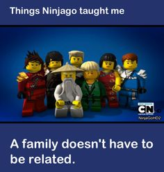Yes I so agree!!!!! Our family is different me & my sister are adoupted from China, ppl think that were not family because me & my sister are different bold, but dose that matter?!?!? NO!!!!!!!! A family loves each other and cares for each other thats what makes a family.Not if there related!! And trust me I know!!