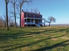 The Worthington House at Monocacy National Battlefield