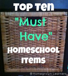 Great homeschool blog!