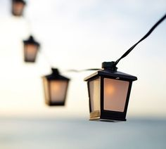 Mini Lantern String Lights Pottery Barn : 1000+ images about Balcony Ideas on Pinterest Pottery barn, Lantern string lights and Malta