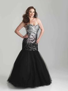 Night Moves 6781W Plus Size Prom