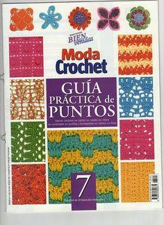 Free crochet motif, square and stitch diagram, chart patterns.