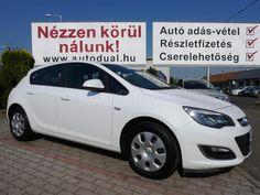 Eladó használt OPEL ASTRA J 1.6 Selection MAGYARORSZÁGI. 1.TUL. 58.000, 2013/6, Fehér színű - Használtautó.hu Thing 1, Vehicles, Car, Automobile, Autos, Cars, Vehicle, Tools