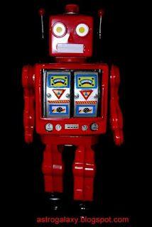 Red Space Walkman Robbot